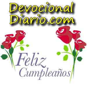 devocional diario feliz cumple