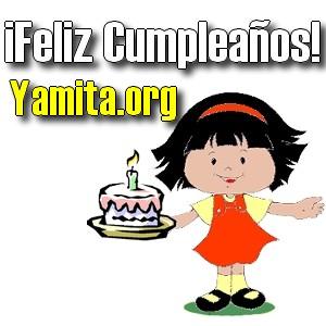 feliz cumpleaños Yamita org