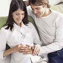 padres esperando bebe