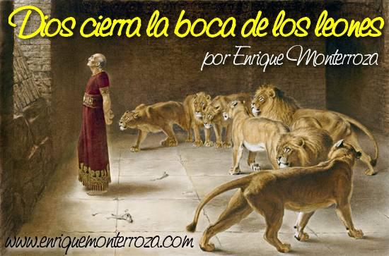 Dios cierra la boca de los leones